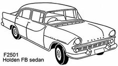 194 best car stencils images rolling carts silhouettes car drawings 1956 Buick Special Hardtop rubber st car holden fb sedan f2501 ebay