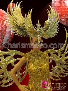 Charismatico Dancewear Store - CHARISMATICO Large showgirl's Golden glitter and mirrors wings half-mask styled headdress, $179.00 (http://www.charismatico-dancewear.com/charismatico-large-showgirls-golden-glitter-and-mirrors-wings-half-mask-styled-headdress/)