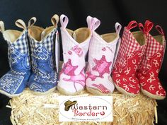 Our special soft baby Cowboy boots come in different styles and sizes. Baby Cowboy Boots, Little Cowgirl, Baby Boots, Baby Girl Shoes, My Little Girl, Girls Shoes, Kids Western Wear, Western Babies, Texas Western