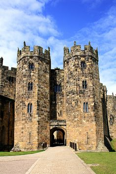 Hogwarts, Harry Potter Castle - Alnwick, Northumberland, England