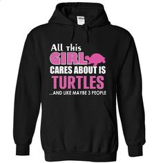 All this girl cares about is Turtles - #bachelorette shirt #christmas sweater. MORE INFO => https://www.sunfrog.com/LifeStyle/-All-this-girl-cares-about-is-Turtles-9380-Black-15943452-Hoodie.html?68278