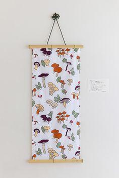Tenugui Towel Mushroom : SOU • SOU US Online Store
