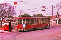 Bonde, Light Rail, City, Old Photographs, Old Pictures, Santa Cecilia, 1950s, Trains, Transportation