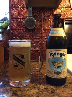 Bräuweisse by Ayinger Brewery; Aying, Germany.