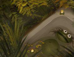 "Check out new work on my @Behance portfolio: ""Evening bath"" http://be.net/gallery/41352059/Evening-bath"