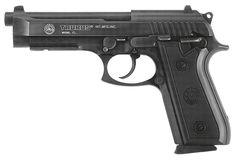 Taurus 92 - 9mm pistol.  Taurus purchased the Beretta factory in Sao Paulo, Brazil in 1980 and began producing this popular gun.I own a Beretta 92G