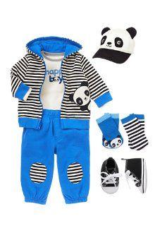 PLAYFUL PANDA OUTFIT - Newborn - 18 Month