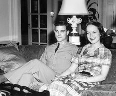 Serving in the U.S. Army in the early 1950s, Don always made time to see Adele Coryell during his visits home.