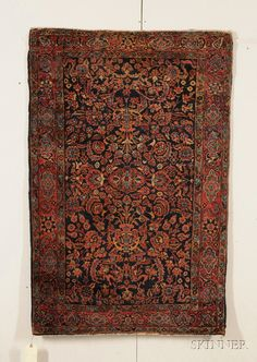 Sarouk Rug, West Persia, early 20th century,   5 ft. 3 in. x 3 ft. 4 in.  | Skinner Auctioneers