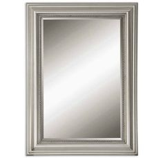 View the Uttermost 12005 B Stuart Silver Mirror at Build.com.