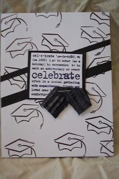 inspiration for graduation party invitations!