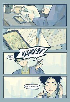 Haikyuu Manga, Haikyuu Karasuno, Haikyuu Funny, Haikyuu Fanart, Anime Manga, Anime Guys, Yuri, Bokuto X Akaashi, Gucci Gang