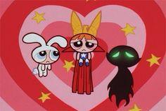 sad, powerpuff girls, and cartoon image