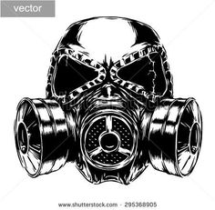 stock-vector-black-and-white-engrave-isolated-vector-gas-mask-295368905.jpg (450×441)