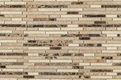 Emperador Bamboo Blend / Pattern / Honed