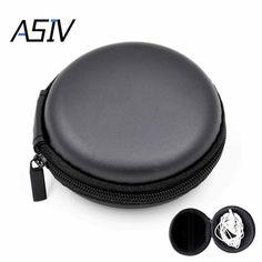 1Pcs SD Hold Case Storage Carrying Hard Bag Box Case for Earphone Headphone Earbuds memory Card Caja de transporte auricular