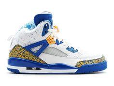 finest selection f2b24 a9da4 Air Jordan Spiz´ike - Chaussures Nike Air Jordan Baskets Pas Cher Pour  Homme Blanc