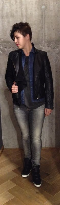 Steal her style! Diesel and G-star. www.ruysfashion.nl