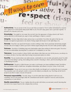 11 Ways to Earn Resp love positive words