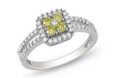 Yellow Diamond Ring. Would you wear it? YES!  I LOVE this ring!