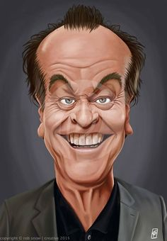 Jack Nickelson- Caricature.