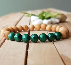 Check out this item in my Etsy shop https://www.etsy.com/listing/503771108/natural-green-malachite-bracelet-green