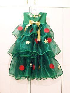 Christmas Tree costume by rugbygurl.deviantart.com on @deviantART