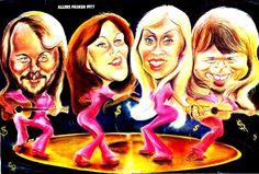 """ABBA var på topp i 1977, og slik oppfattet """"Allers"""" dem."""