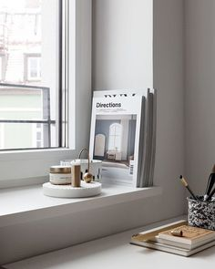 My view from where I set at my computer Happy Monday to you all fermliving muuto studioarhoj designhotels Home Office Design, Home Interior Design, Minimal Home, Living Spaces, Living Room, Apartments For Sale, Bay Window, Windows And Doors, Decoration