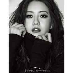Go Ara takes over the cover of Korea China's 'CeCi' shows off... ❤ liked on Polyvore featuring models