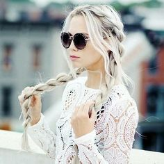 Hair Idea: Braided Pigtail