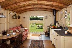 shepherds hut interior (many more on pinterest)