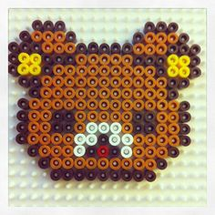 Rilakkuma hama beads by eloely http://mistertrufa.net/librecreacion/culturarte/?p=12