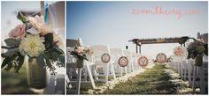 Modern Beach Wedding Terranea Resort