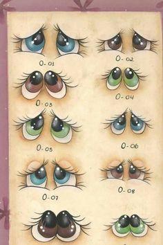 Eyes expression colouring and drawing esempi di disegno e colorazioni espressioni facciali occhi More
