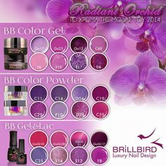 POINTOFBEAUTY.GR - Brillbird Athens exclusive sales point: Τα χρώματα της μόδας του 2014 Luxury Nails, Orchids, Nail Designs, Nail Polish, Lipstick, Color, Products, Lipsticks, Nail Desings