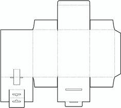 Cube Box Template No.02 | Free Box Templates Store
