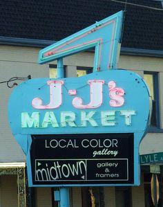 J.J's Market on Broadway in Nashville, TN. Best mocha in town!