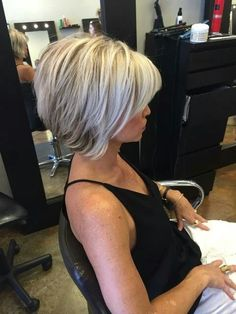 : 25 Best Bob Hairstyles for Women 2017 Inverted Bob Haircuts for Fine Hair Bob Haircut For Fine Hair, Bob Hairstyles For Fine Hair, Hairstyles Haircuts, Haircut Bob, Pixie Haircuts, Medium Hairstyles, Asymmetrical Bob Haircuts, Stacked Bob Hairstyles, Braided Hairstyles
