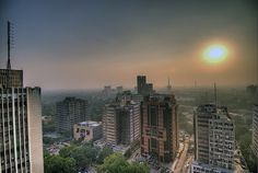 Delhi, India second largest megacity in the world