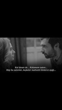 Poyraz karayel Tired Of Love, You Left Me, Series Movies, I Movie, Tumblr, Feelings, Couples, Words, Funny