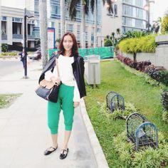 Fashion Blogger// Fur Sweater & Leather Jacket