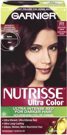 Pin Garnier Nutrisse Hair Color Black Cherry Deep Burgundy In Dallas On Pinterest