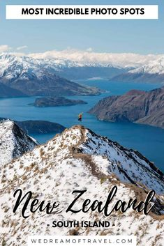 New Zealand is a landscape photographers dream! The South Island of New Zealand is home to many beautiful places and landscapes. This travel guide will help you discover all the best New Zealand photography locations and hidden gems. New Zealand Itinerary, New Zealand Travel Guide, New Zealand Holidays, New Zealand Landscape, Visit New Zealand, New Zealand South Island, Travel Aesthetic, Australia Travel, Travel Around The World