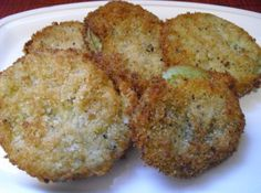 Fried Green Tomatoes.  I really want to try these.