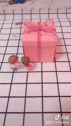 Diy Crafts Hacks, Diy Crafts For Gifts, Diy Home Crafts, Diy Gifts Guys, Cool Paper Crafts, Paper Crafts Origami, Diy Gift Box, Diy Box, Diy Birthday