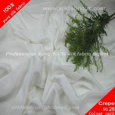 16mm silk crepe de chine fabric-natual white http://www.silkfabricuk.com/16mm-silk-crepe-de-chine-fabricnatual-white-p-451.html