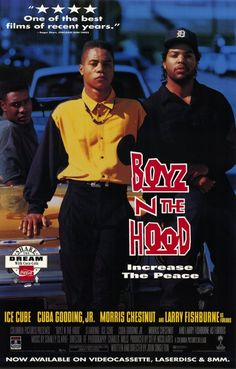 Boyz n the Hood (1991) Saga of a group of childhood friends growing up in a Los Angeles ghetto.Ten-year-old Tre Styles lives with his single mother Reva Devereaux in Inglewood, California, and is known to be a bully in his school. After Tre gets involved in a fight at school, his teacher calls Reva. The teacher informs Reva that although Tre is rather intelligent, he is immature and lacks respect for classmates and adults alike. Frightened about the future of her child,