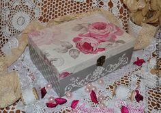 """Шкатулка """"Розовое утро"""" - шкатулка,шкатулочка,шкатулка деревянная,Декупаж"""