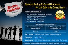 L Infotech Special Buddy Referral for JD Edwards Functional Consultants - Bangalore, Chennai, Mumbai, Pune | My Naukri Alert ™